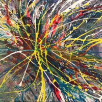 "Colour Me Energy - 18""x24"" - $450"