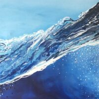 "The Wave - 24""x20"" (framed) - $480"