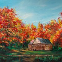 "Morning Splendour - 24""x24"" - $575"